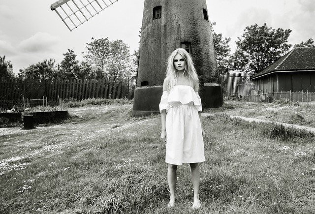 Charlotte Stather editorial shoot